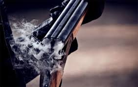 smoking rifle